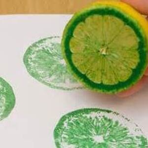 Painting with Vegetables and Fruits