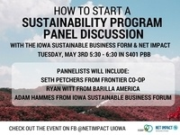 Iowa Sustainable Business Forum Panel Discussion