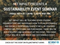 Net Impact Sustainability Event Seminar