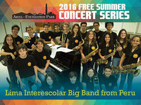 Lima Interescolar Big Band Concert