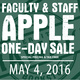 One Day Apple Sale for Faculty & Staff