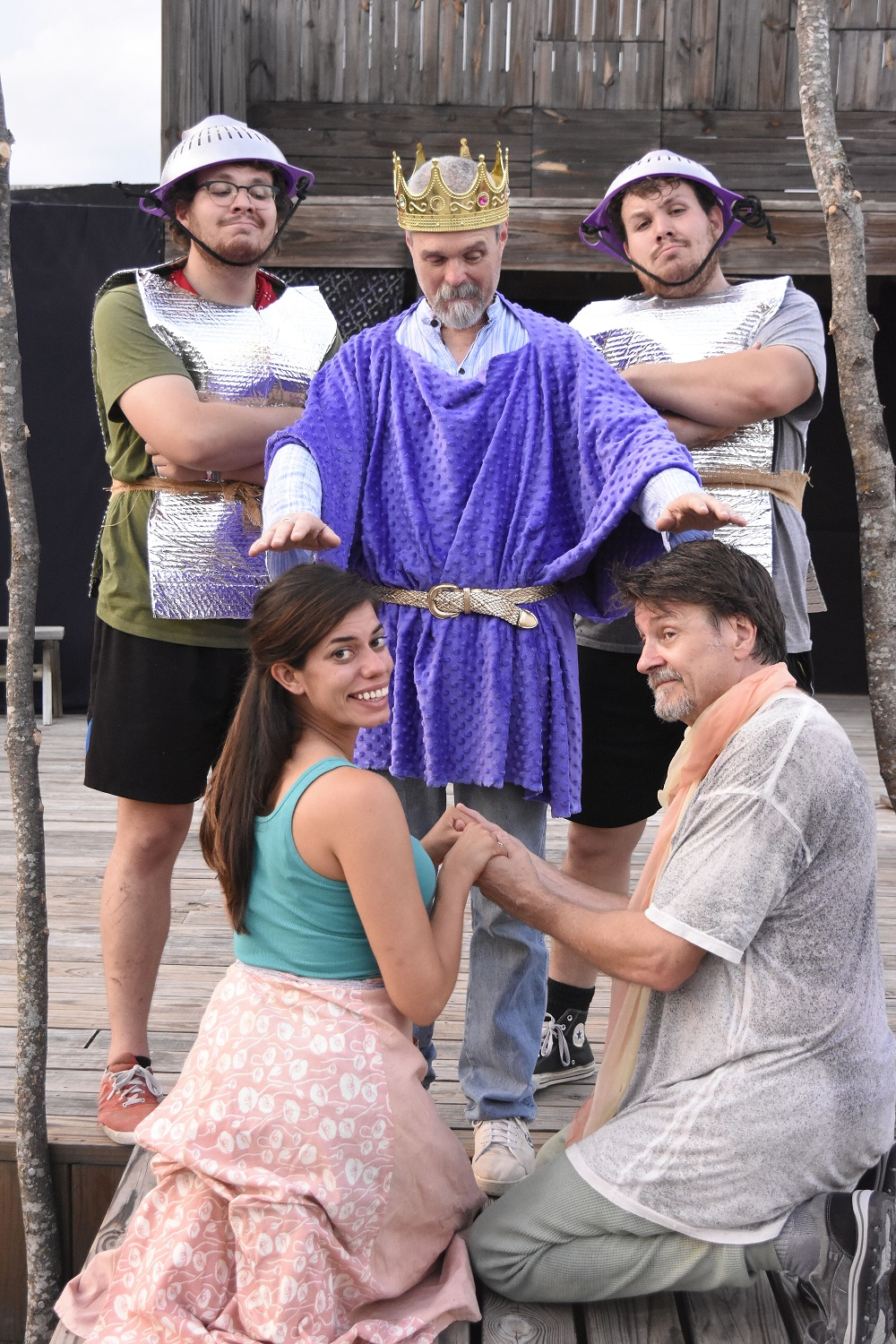 """Mr. Weaver's Backyard Circus Presents """"A Connecticut Yankee in King Arthur's Court"""""""