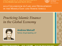 Practicing Islamic Finance in the Global Economy