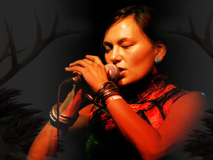 "Tanya Tagaq in concert with ""Nanook of the North"""
