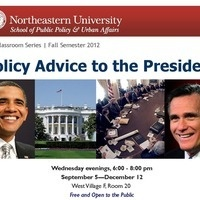The 2012 Election: Policy Advice to the President: Open Classroom Series