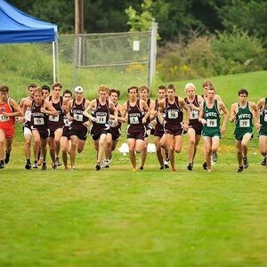 Colgate University Men's Cross Country vs  Harry Lang Invitational