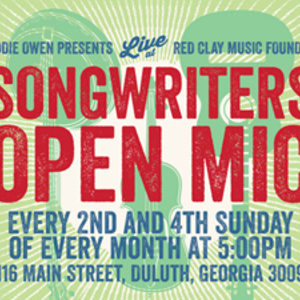 Songwriters Open Mic hosted by Eddie Owen