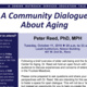 A Community Dialogue About Aging