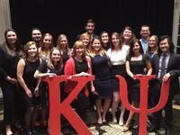 Kappa Psi Pinning Ceremony