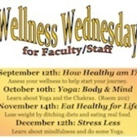 Wellness Wednesday, Faculty & Staff