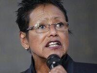 """""""Radical Reform and New Age Racism in America: a Conversation,"""" featuring Elaine Brown and Noliwe Rooks"""