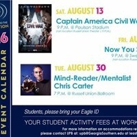 UPB Special Event: Mentalist Chris Carter