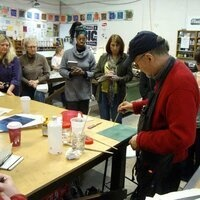 Artober Gwinnett: Intaglio Demo for Hudgens Center Family Day