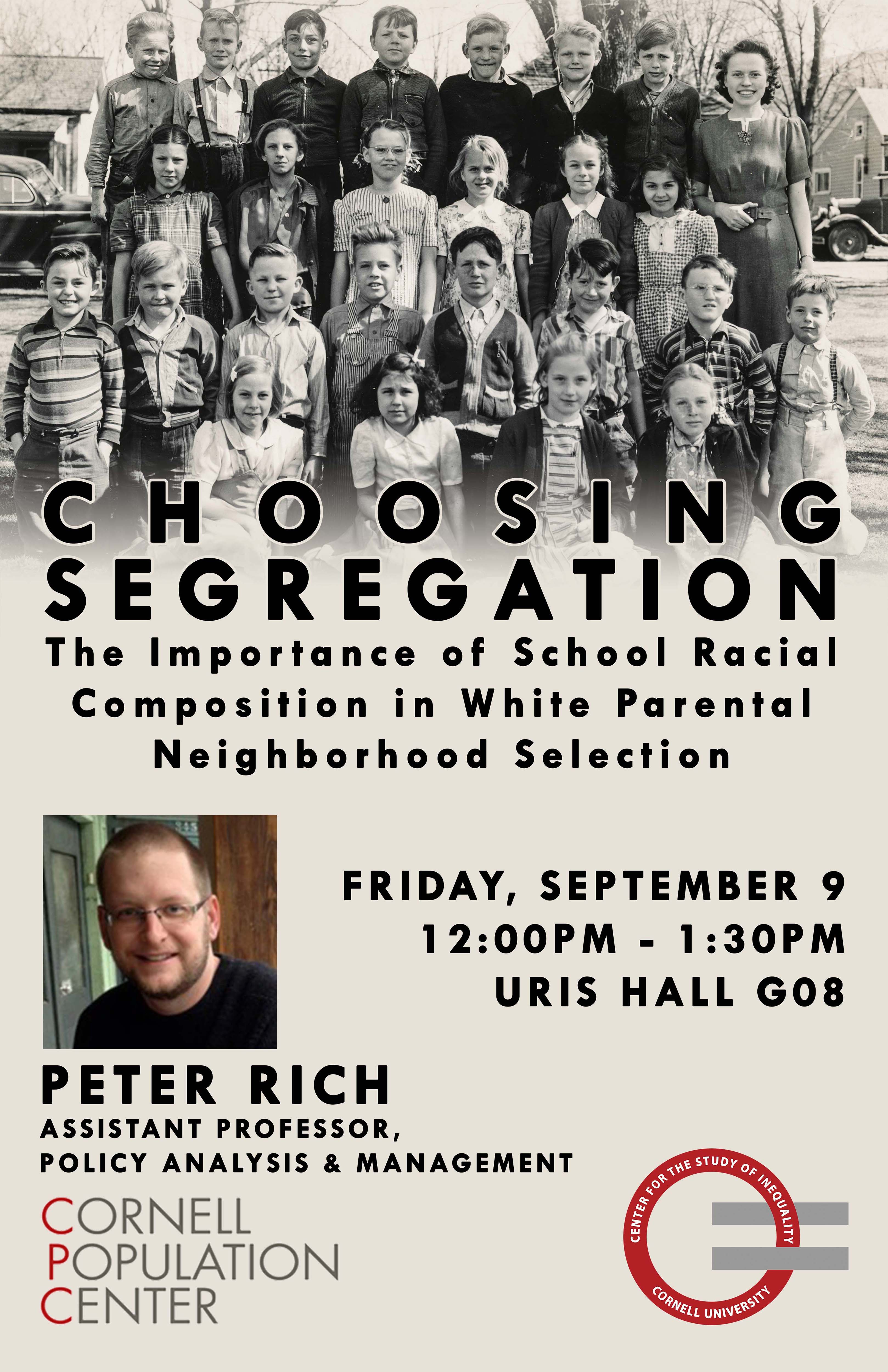 Choosing Segregation: The Importance of School Racial Composition in White Parental Neighborhood Selection