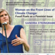 SANDRA STEINGRABER, Women on the front lines of climate change: Fossil fuels as a feminist issue