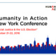 "Humanity in Action New York Conference: ""Social Justice & the U.S. Election"""