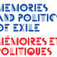 Memories and Politics of Exile Symposium, Oct 6-7th 2016