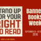 Banned Books Week Information Table