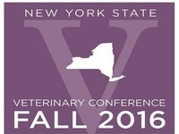 New York State Veterinary Conference Fall 2016 (Sep 30-Oct 2)