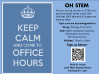 OH STEM: Office Hours for Science, Technology, Engineering & Math