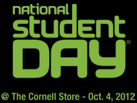 National Student Day @ The Cornell Store