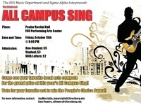 All Campus Sing!