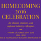 Department of Chemistry Homecoming Celebration