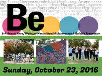 Be 5K for Mental Health Awareness & Suicide Prevention