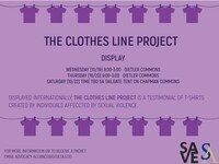 The Clothesline Project Display