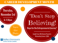 Don't Stop Believing: Hope for the Entrepreneurial Journey