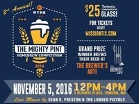 WTMD Presents The Mighty Pint: 2nd Annual Homebrew Competition