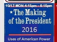 *The Making of a President - Uses of American Power