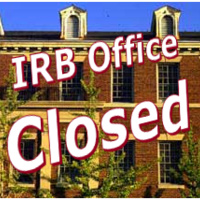 IRB Office Closed
