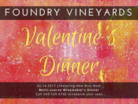 Valentine's Dinner @ Foundry Vineyards