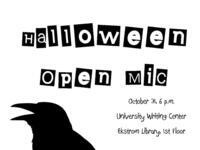 Halloween Open Mic Night