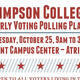 Early Voting Polling Place