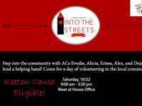 Into the Streets (Keeton Cause Volunteers)