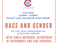 """""""Race and Gender in the 2016 Presidential Election"""""""