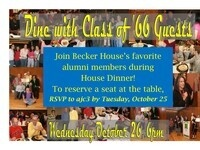 Dine with Class of '66!!