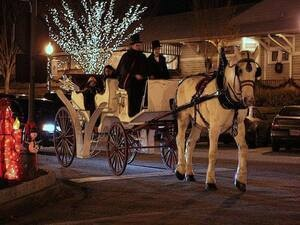Holiday Carriage Rides