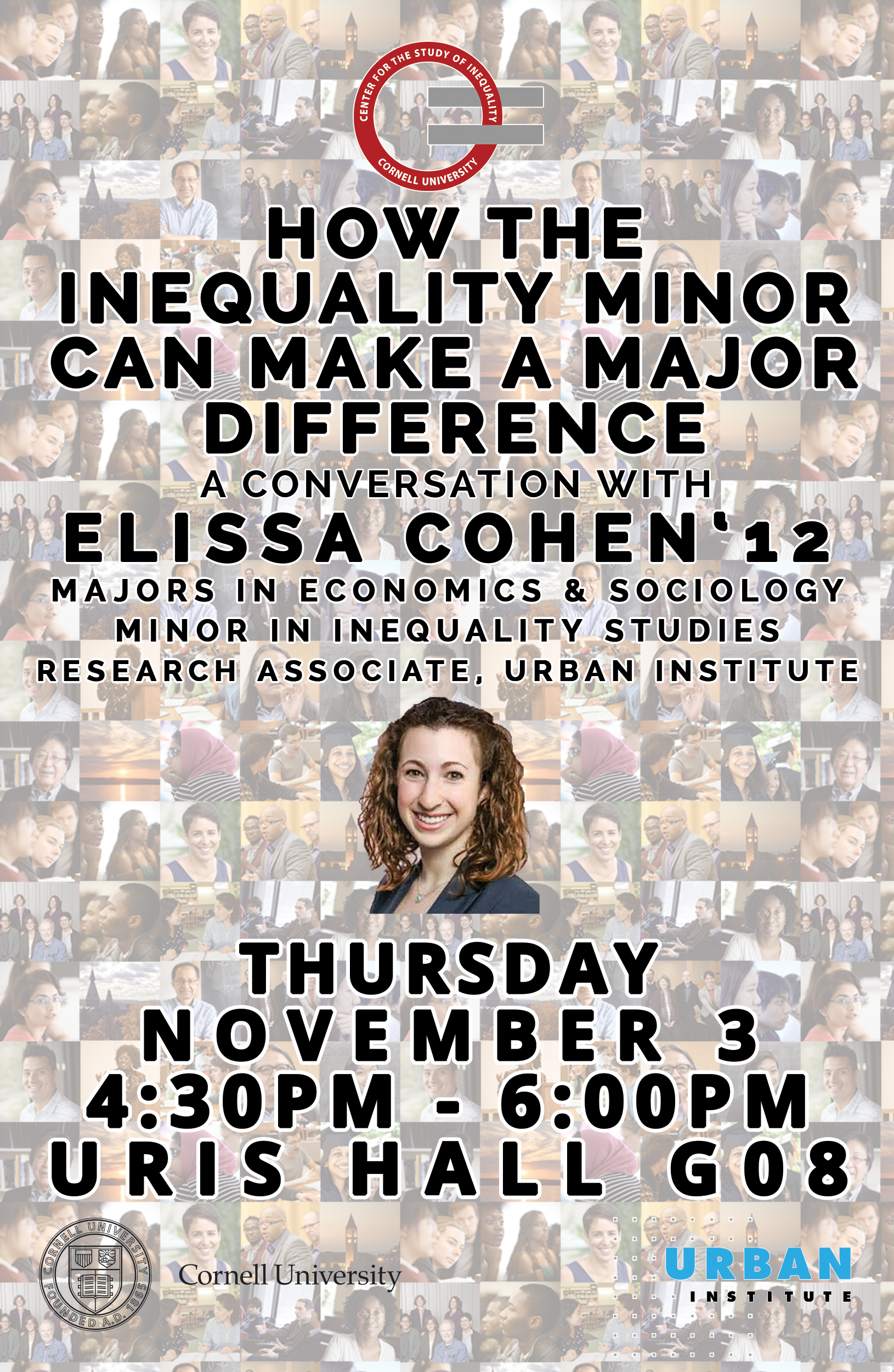How the Inequality Minor Can Make a Major Difference: A Conversation with Elissa Cohen, '12