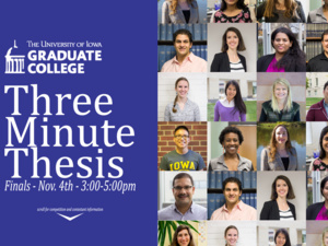 Three Minute Thesis Finals