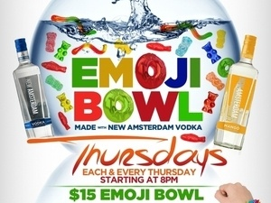 EMOJI BOWL Thursdays
