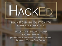 HackEd: Brainstorming Solutions to Issues in Education