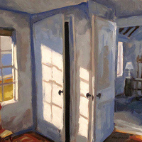 Light and Shadow: Paintings and Drawings by Philip Koch from Edward Hopper's Studio