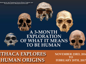 Ithaca Explores Human Origins: A 3-Month Exploration of What It Means To Be Human