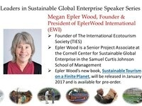 Leaders in Sustainable Global Enterprise Speaker Series