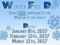 Winter FREE Day - Museum of the Earth