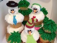 Winter Sprinkle Party @ Frosted Cupcake Shop
