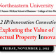 2012 IP/Innovation Connection: Exploring the Value of Intellectual Property Innovation